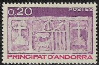 Andorra (French POs) SG F337 1983 Definitive 20c mounted mint
